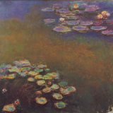 16. claude monet water lilly